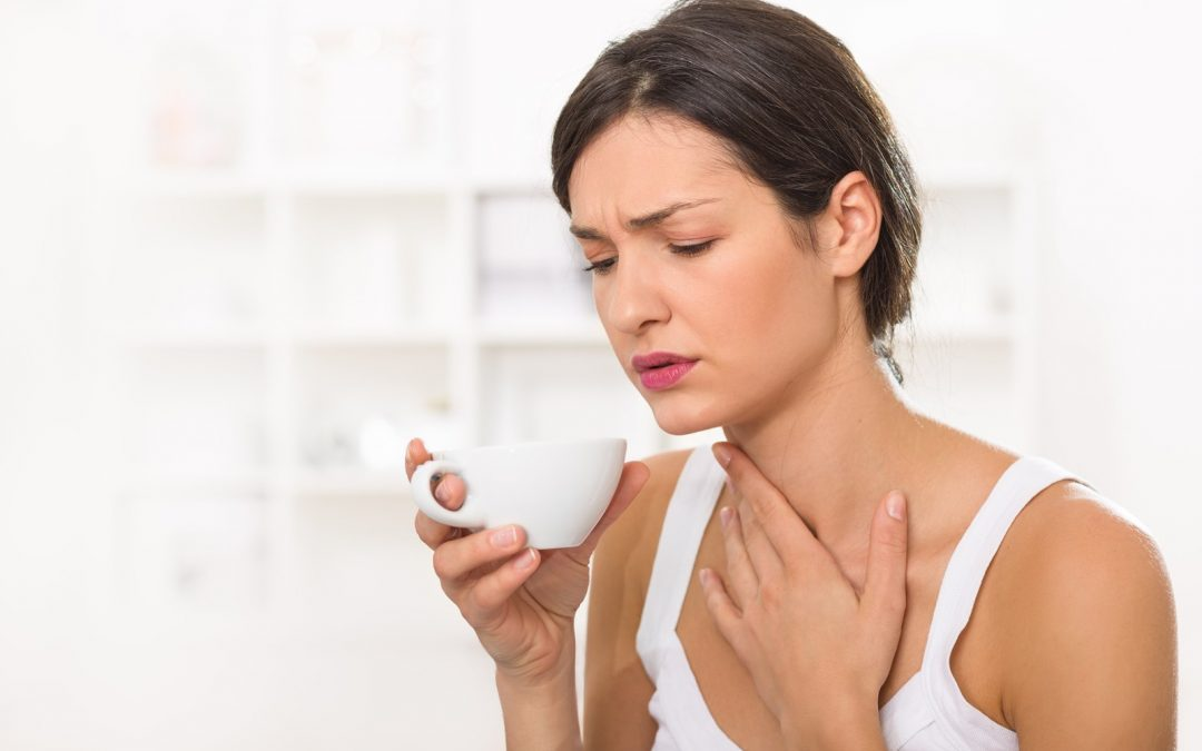 A sore throat, coughing, hoarseness might be signs of something other than a cold